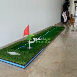 Thảm put viền 1 line 0.5x3m - Golf Green With White