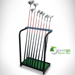 Giá để 9 gậy golf - 9 Golf Clubs Rack