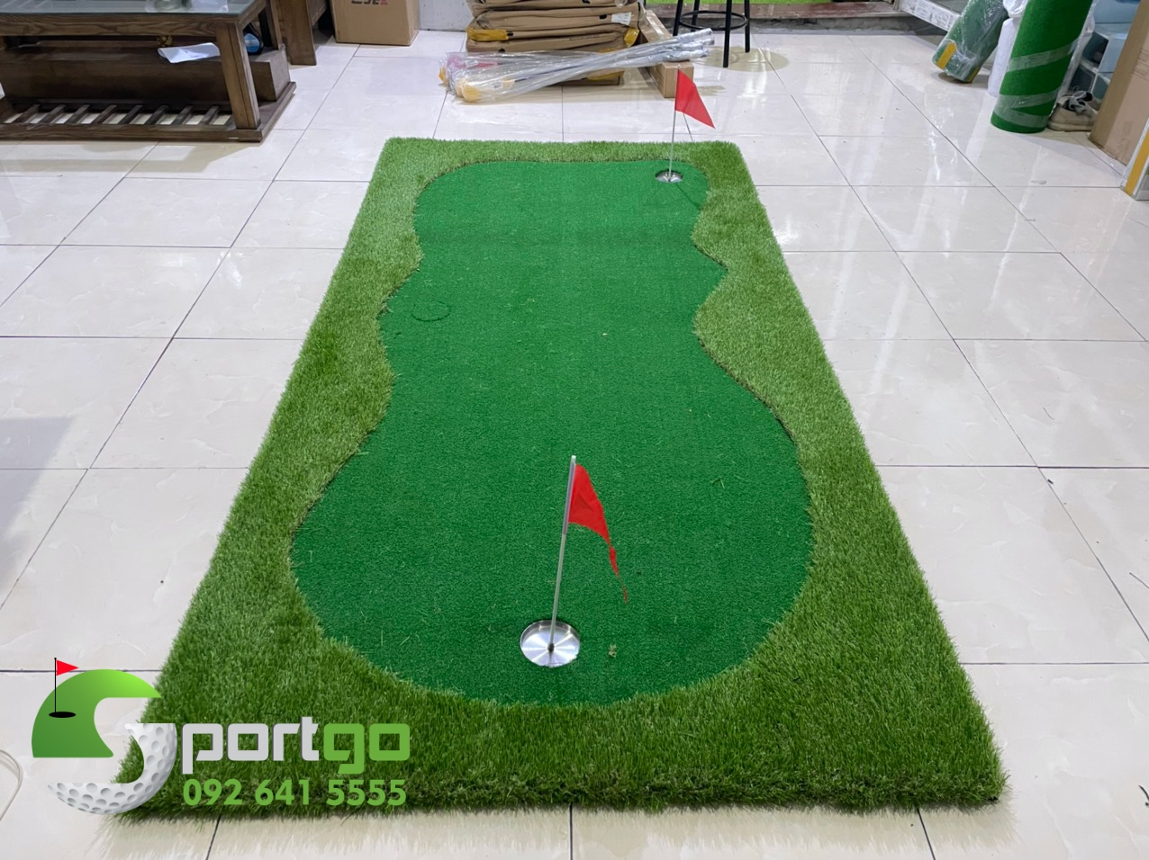 Thảm tập golf putti SPG001