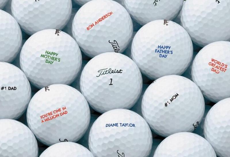 Các loại bóng golf phổ biến nhất hiện nay