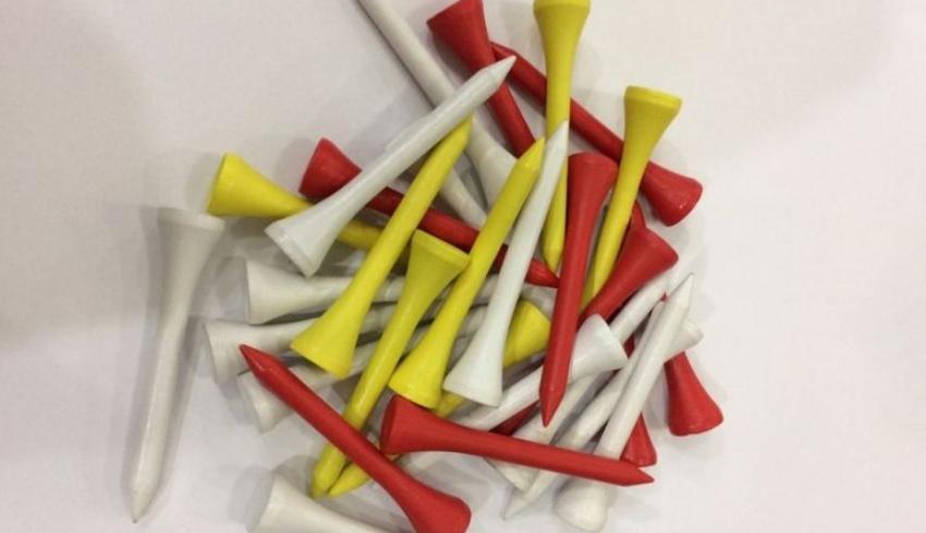 Màu sắc của các loại tee golf