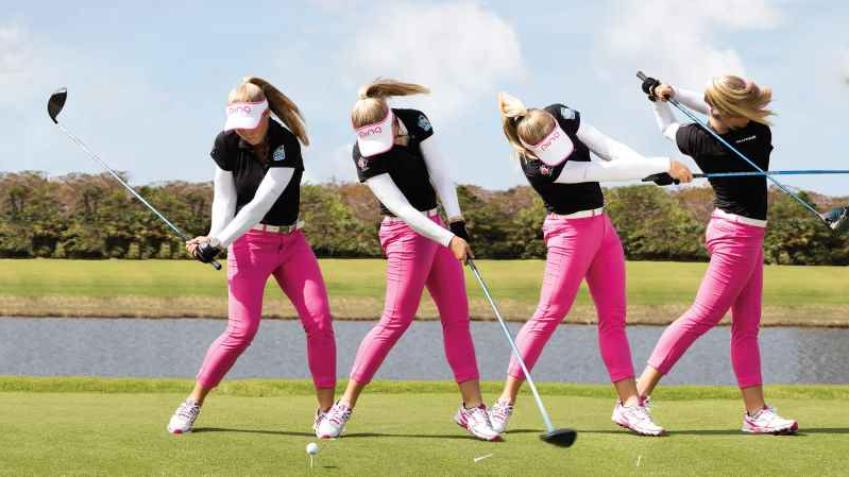Học tập golf với kỹ thuật swing cơ bản