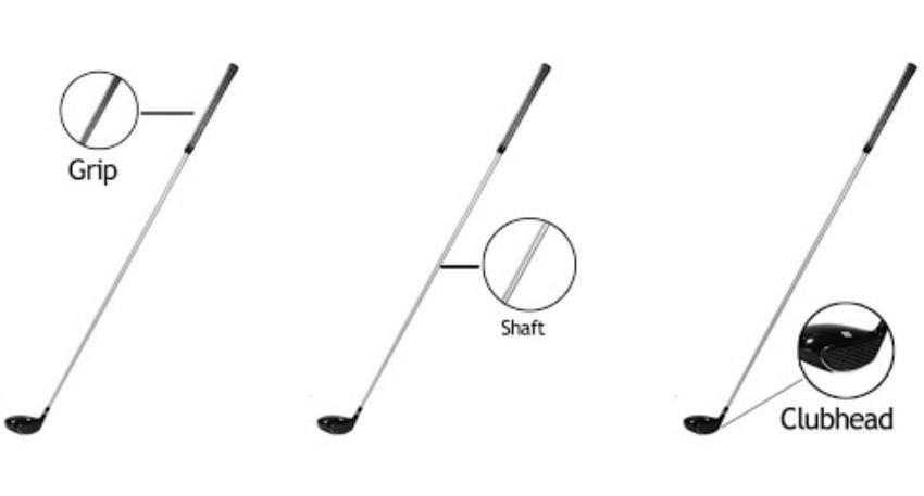 cấu tạo gậy golf