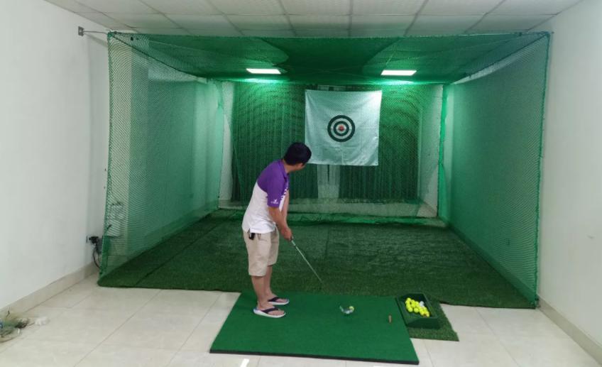 Khung lưới đánh golf tại nhà