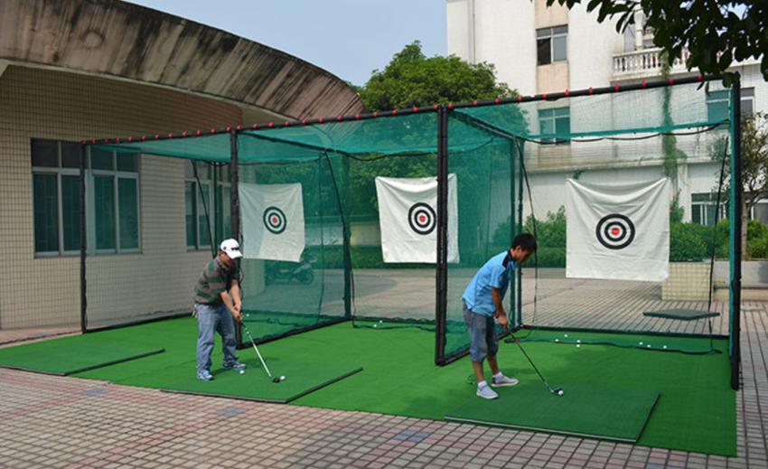 Khung tập Golf sân vườn