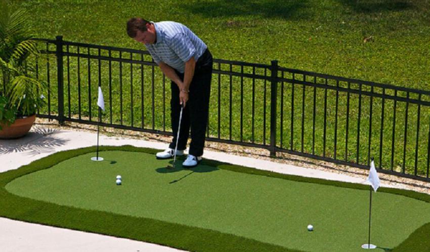 Lợi ích của thảm tập golf