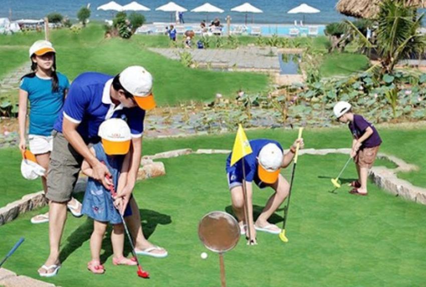 Lưu ý cách chọn bộ gậy golf trẻ em