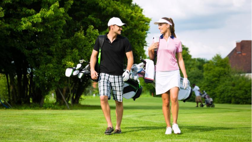 Trang phục tập đánh golf phù hợp