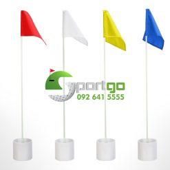 Bộ hố và cờ nhiều màu sắc