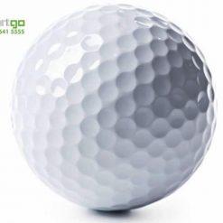 bóng golf 2 lớp màu trắng