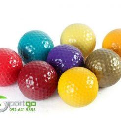 Bóng golf nhiều màu sắc