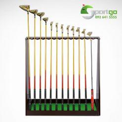 Giá để 13 gậy golf bằng gỗ cao cấp - Solid Wood Golf Club Rack
