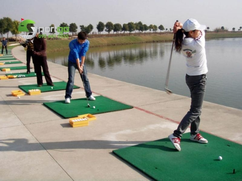 Thảm đánh golf 3D cao cấp