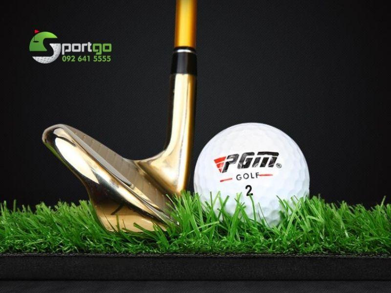 Thảm swing golf cỏ dài